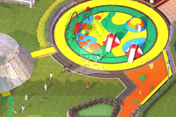 英奇利非標定制定做戶外兒童游樂設備漫威主題游樂設施YQL-07105漫威主題方案.jpg